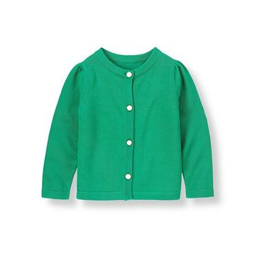 Emerald Green Sweater Cardigan at JanieandJack