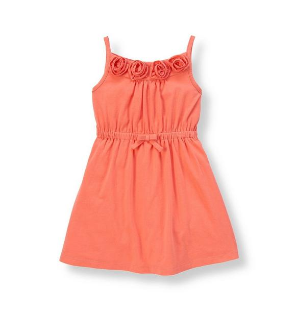 Rosette Knit Dress