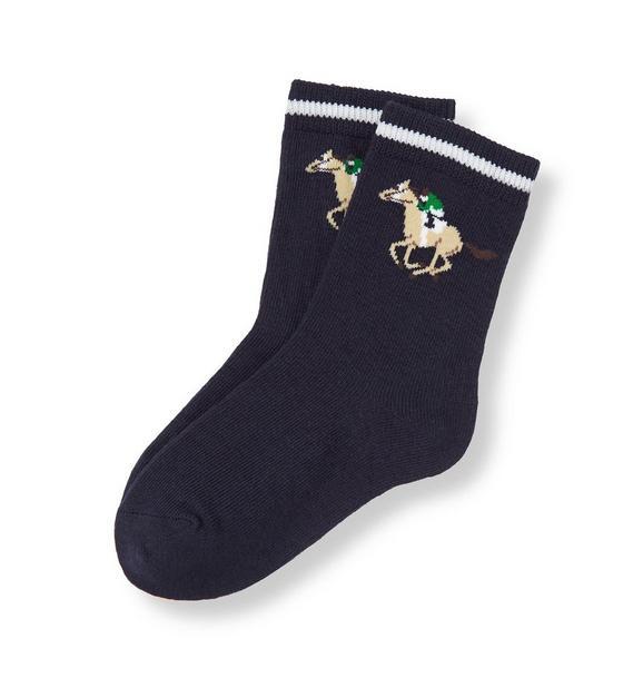 Horse Jockey Sock