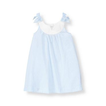 French Blue Stripe Striped Cover-Up at JanieandJack