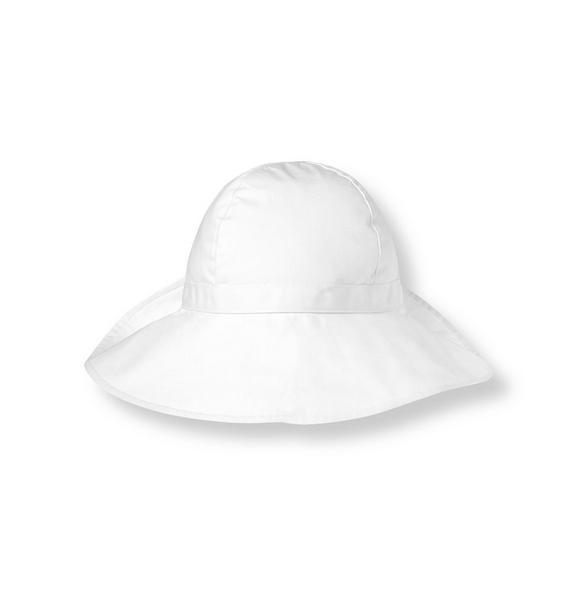 Bow Poplin Hat