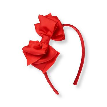 Vintage Red Bow Headband at JanieandJack