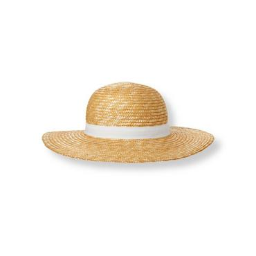 Natural Bow Straw Hat at JanieandJack