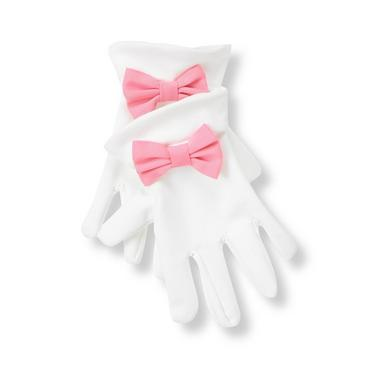 Pure White Bow Glove at JanieandJack