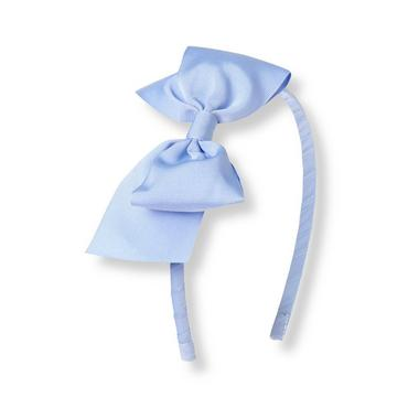 French Blue Bow Headband at JanieandJack