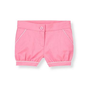 Blossom Pink Cuffed Pique Short at JanieandJack