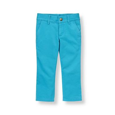 Boys Reef Blue Colored Skinny Fit Pant at JanieandJack