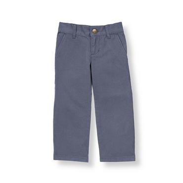 Boys Sunwashed Indigo Colored Skinny Fit Pant at JanieandJack