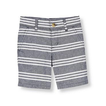 Sunwashed Navy Stripe Striped Short at JanieandJack