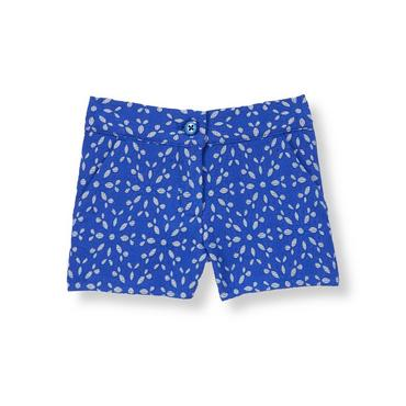 Royal Blue Eyelet Eyelet Short at JanieandJack