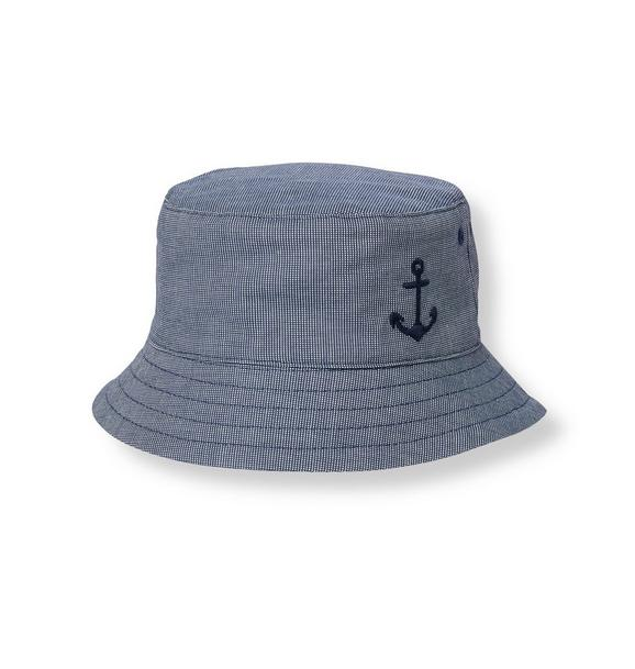 Anchor Canvas Bucket Hat