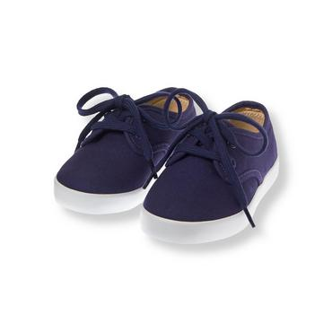 Midnight Navy Lace-Up Sneaker at JanieandJack