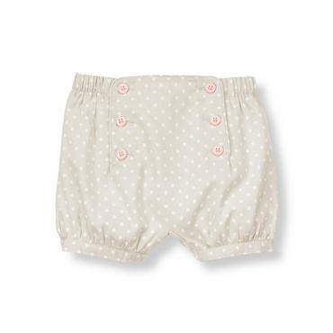 Misty Grey Dot Dotted Corduroy Short at JanieandJack