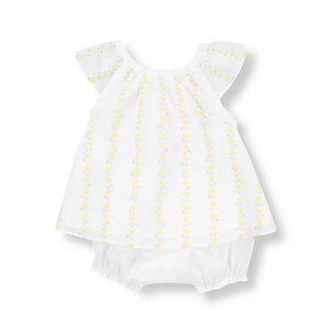 Pure White Daisy Daisy Two-Piece Set at JanieandJack