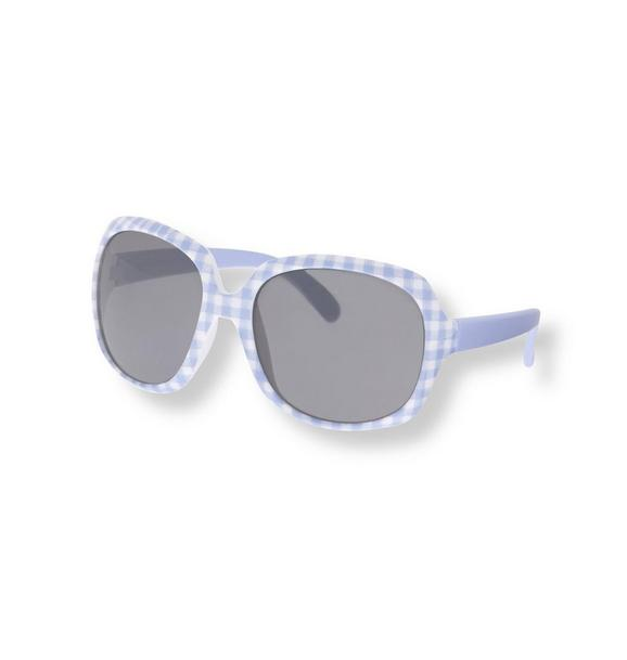 Gingham Sunglasses