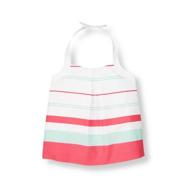 Pure White Stripe Striped Top at JanieandJack
