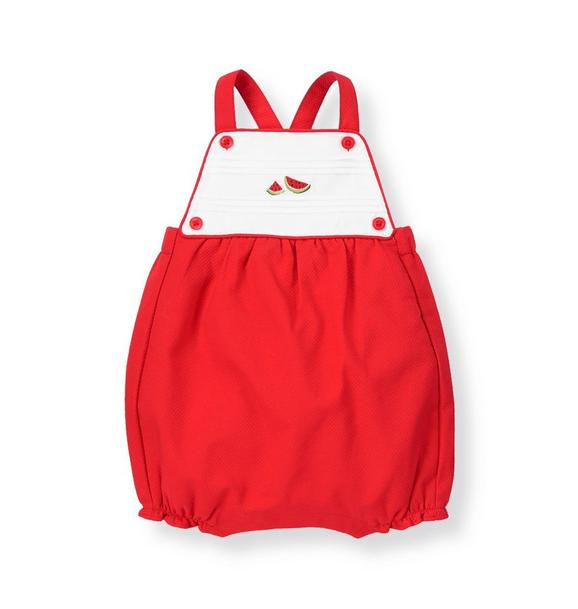 Watermelon Pique Shortall