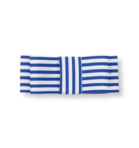 Stripe Bow Barrette