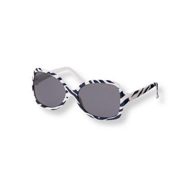 Navy Zebra Zebra Sunglasses at JanieandJack
