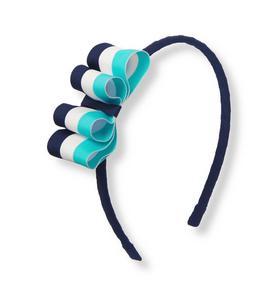 Striped Ribbon Headband
