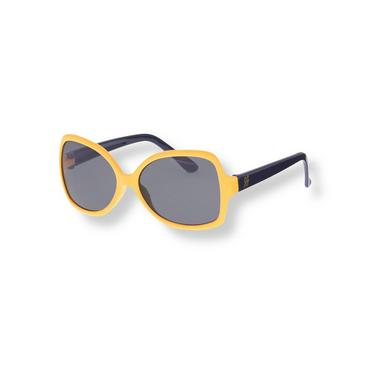 Sunshine Yellow Colorblock Sunglasses at JanieandJack