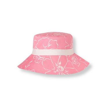 Pink Peony Bow Floral Sunhat at JanieandJack