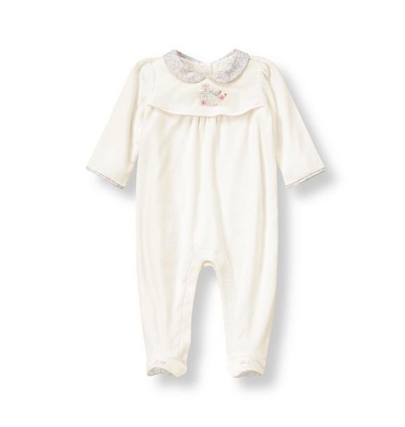 Songbird Velour One-Piece