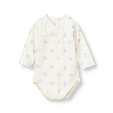 Ivory Horse Rocking Horse Bodysuit at JanieandJack