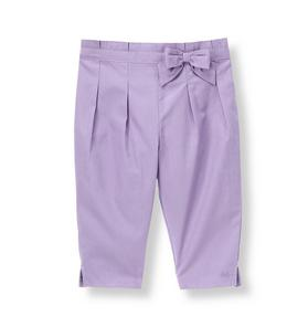 Bow Pleated Pant