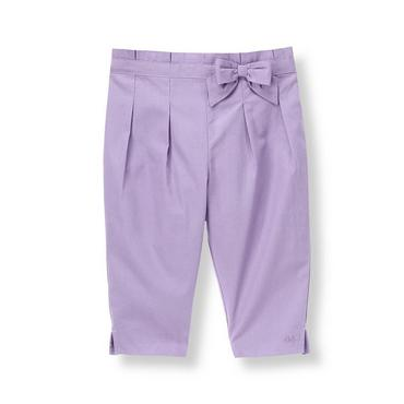 Lavender Bow Pleated Pant at JanieandJack