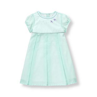 Baby Girl Sweet Mint Dragonfly Dress at JanieandJack