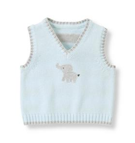 Elephant Sweater Vest