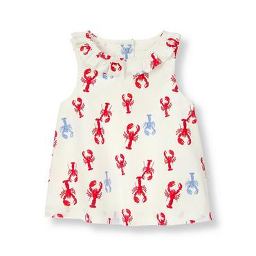 Crimson Lobster Lobster Top at JanieandJack