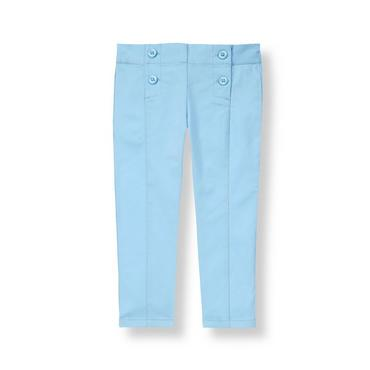 Nantucket Blue Seamed Pant at JanieandJack