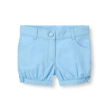 Nantucket Blue Button Cuffed Short at JanieandJack