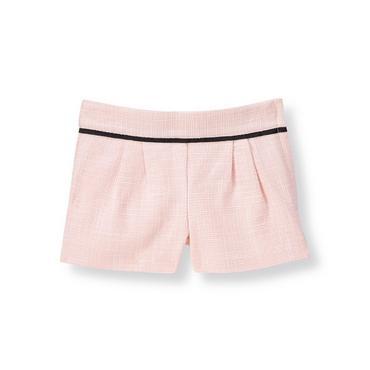 Parisian Pink Boucle Short at JanieandJack
