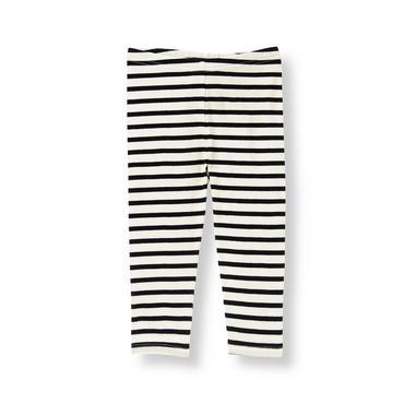 Black Stripe Striped Legging at JanieandJack