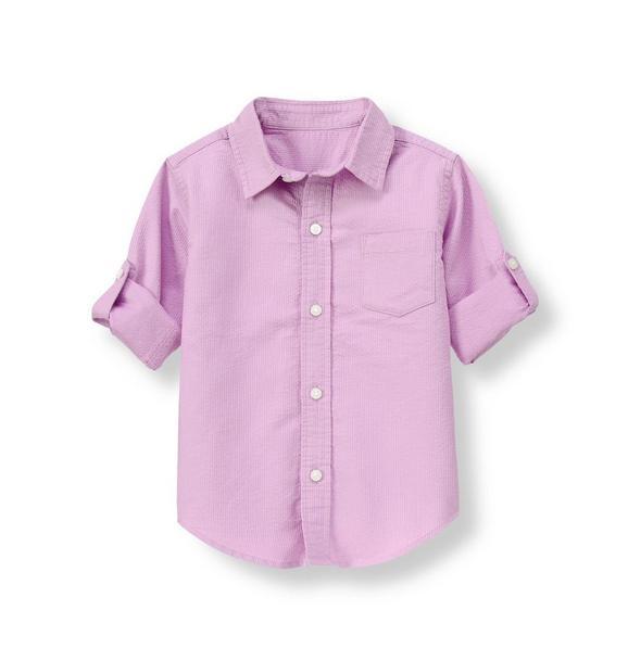 Dobby Roll Cuff Shirt