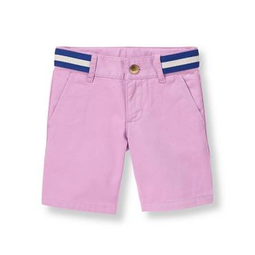 Lavender Nautical Striped Short at JanieandJack