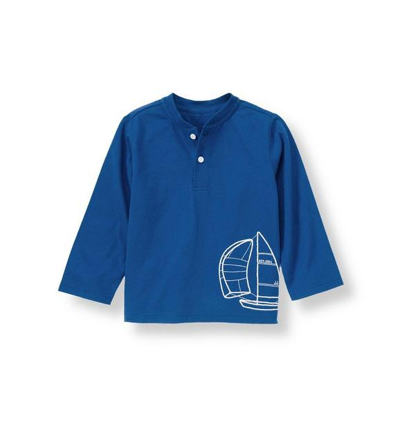 Sailboat Henley Tee