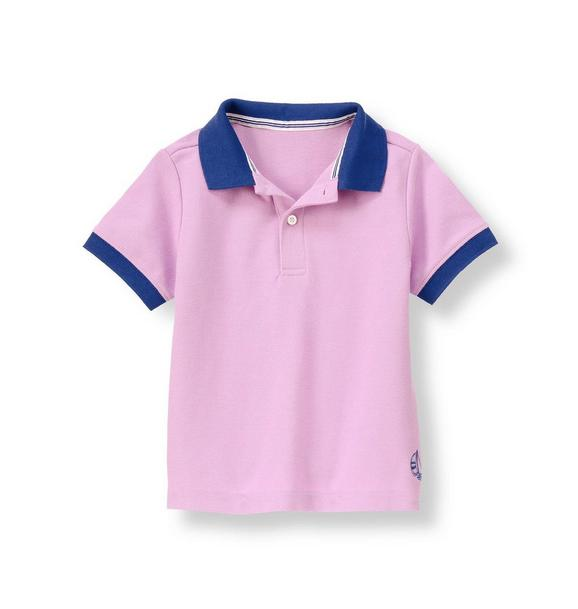 Sailboat Pique Polo Shirt
