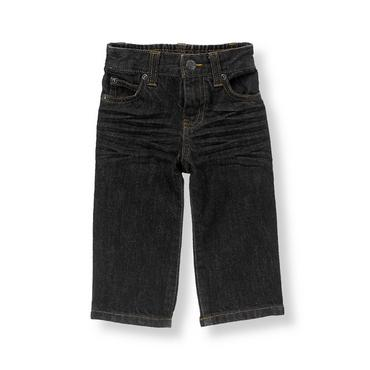 Boys Black Denim Black Jean at JanieandJack