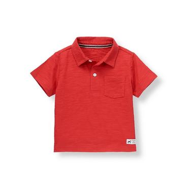 Champion Red Pocket Polo at JanieandJack