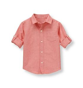 Roll Cuff Oxford Shirt