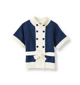 Double Button Sweater Jacket