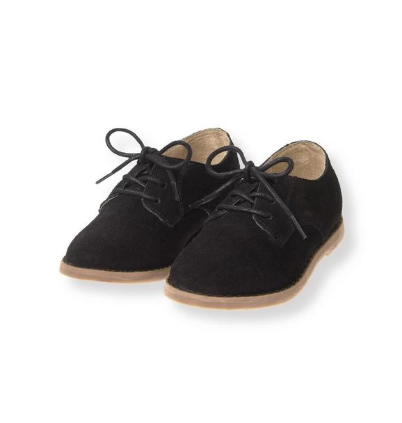 Suede Oxford Shoe