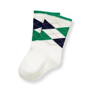 Argyle Crib Sock