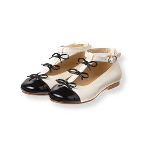 Patent Bow Shoe