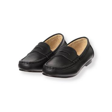 Black Penny Loafer at JanieandJack