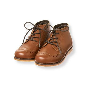 Chestnut Brown Wingtip Boot at JanieandJack